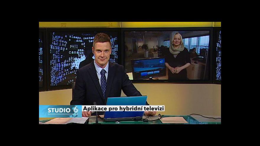 Video Česká televize spustila TV program na HbbTV