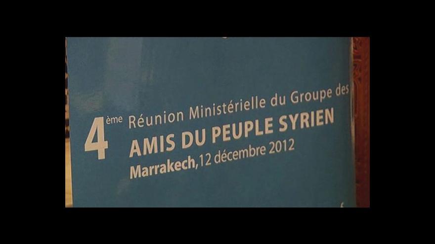 Video USA a Přátelé Sýrie uznaly opozici