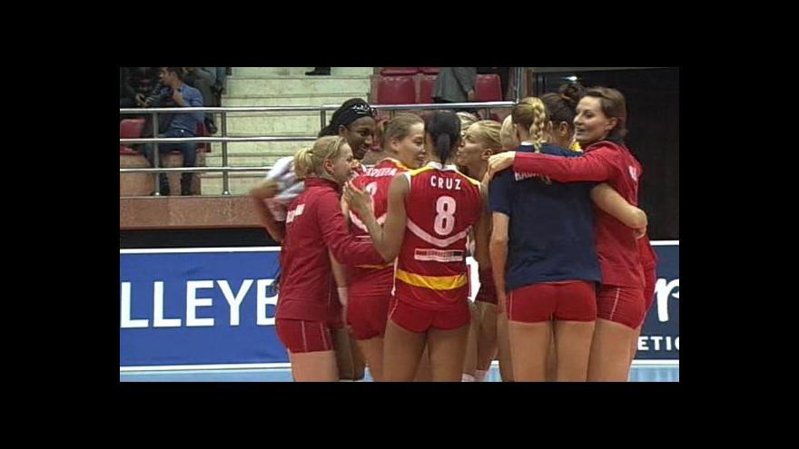 Video Volejbalová LM: Baku - Prostějov