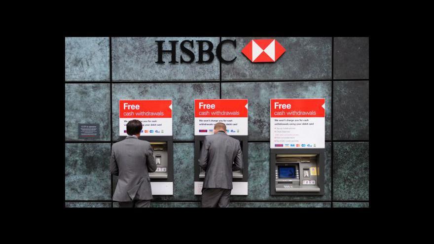 Video Přes HSBC tekly špinavé peníze