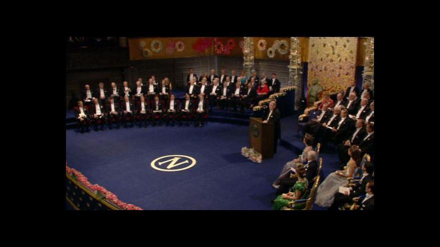 Video Předávání Nobelových cen