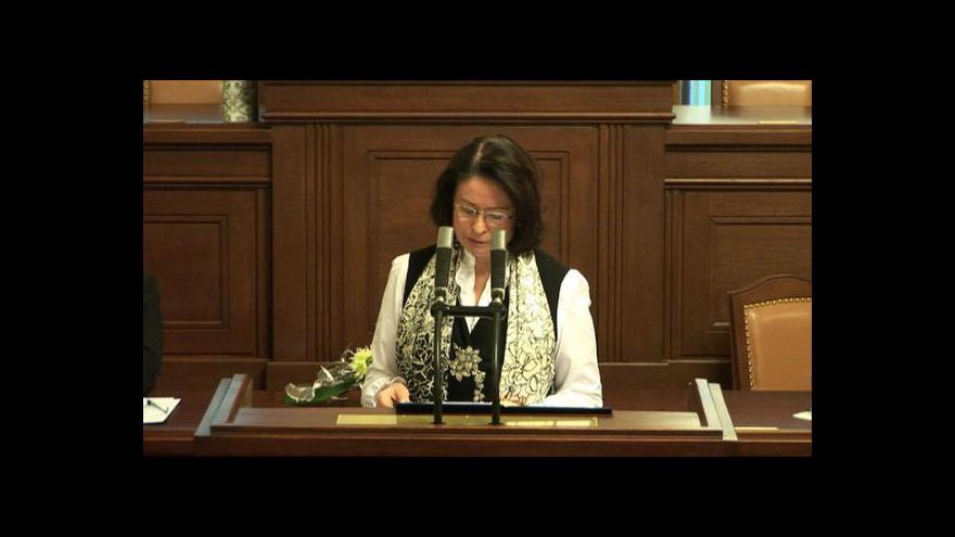 Video Zahájení konference k výročí Ústavy