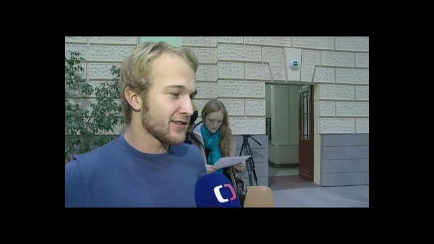 Video Hovoří student Rastislav Kiseľa