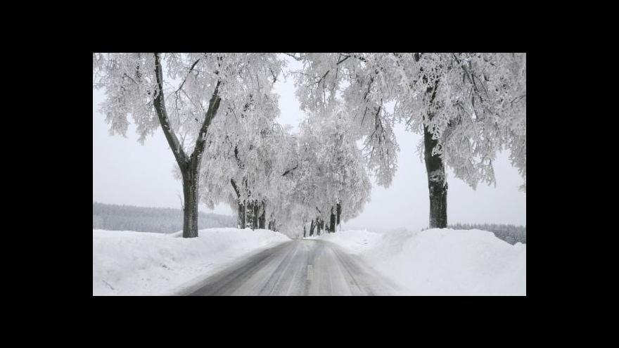 Video Česko zasypal sníh
