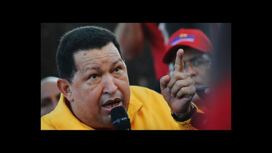 Video Chávezovi se vrátila rakovina