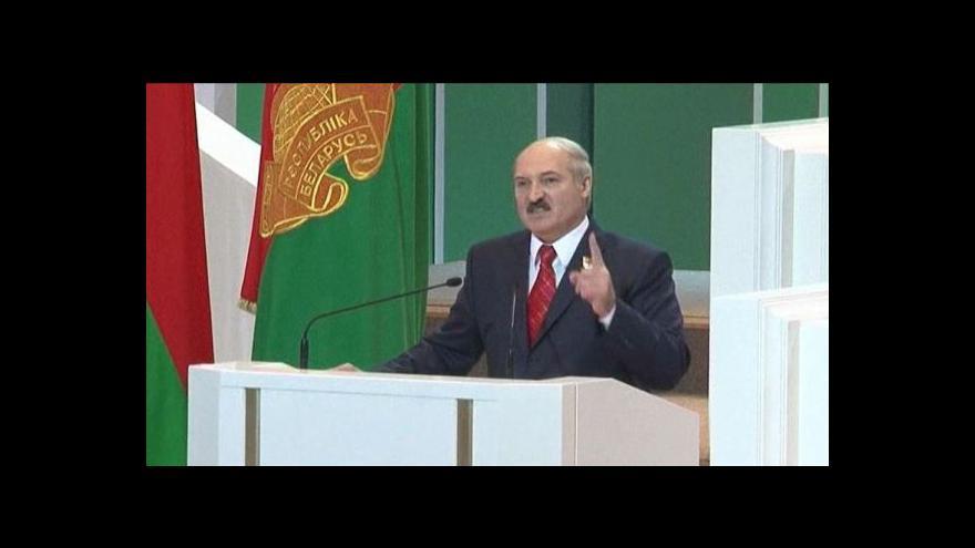 Video Lukašenko zavádí nevolnictví