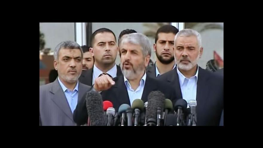 Video Do Gazy se po letech vrátil exilový vůdce Hamasu