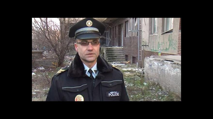 Video Hovoří zástupce velitele břeclavských strážníků Zdeněk Novák