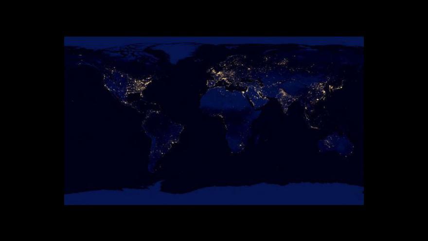 Video Jak vypadá planeta Země v noci?