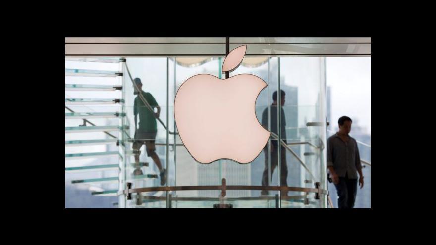Video Apple chce vrátit část výroby z Číny do USA