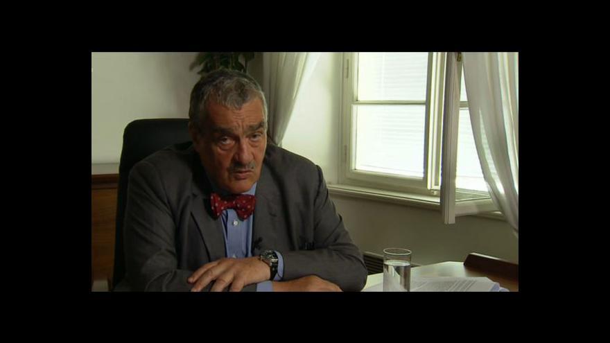 Video Rozhovor s Karlem Schwarzenbergem