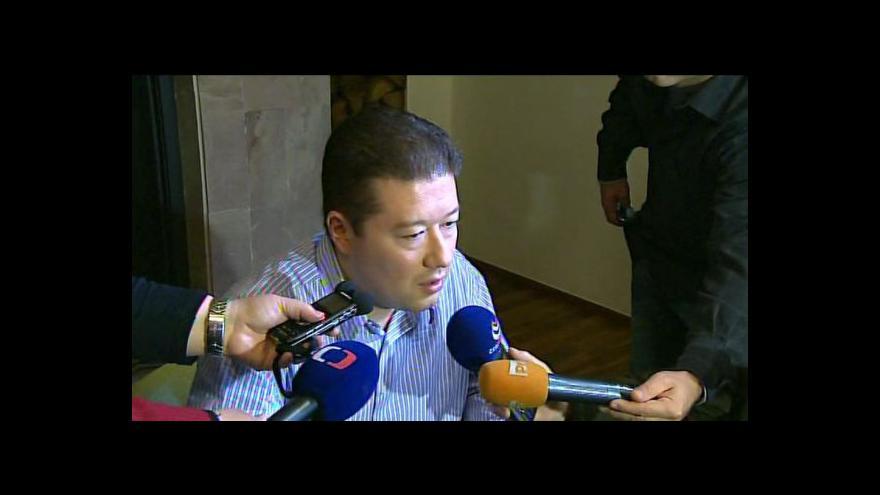 Video Tomio Okamura k vyřazení z boje o Hrad