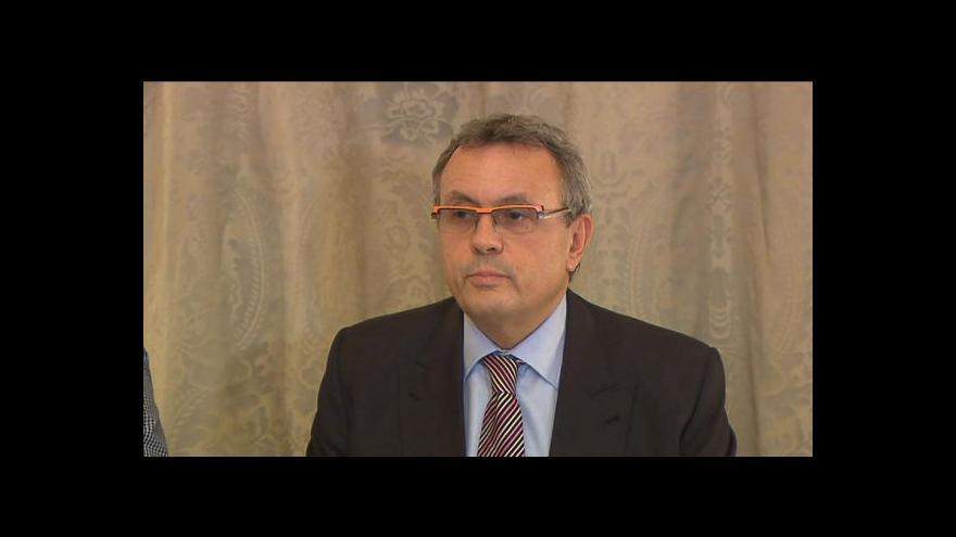 Video Vladimír Dlouhý k vyřazení z boje o Hrad