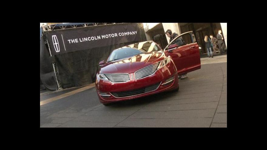 Video Ford chce vrátit Lincoln na výsluní