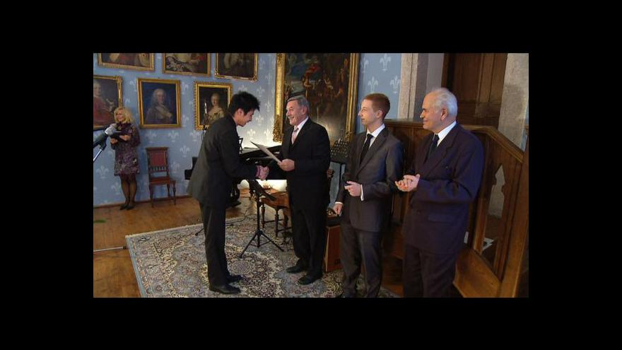 Video Reportáž Petra Ruska o ceně Praemium Bohemiae
