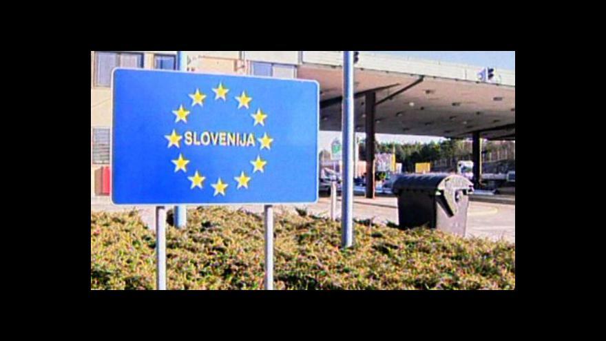 Video Na Slovinsku se opět demonstrovalo