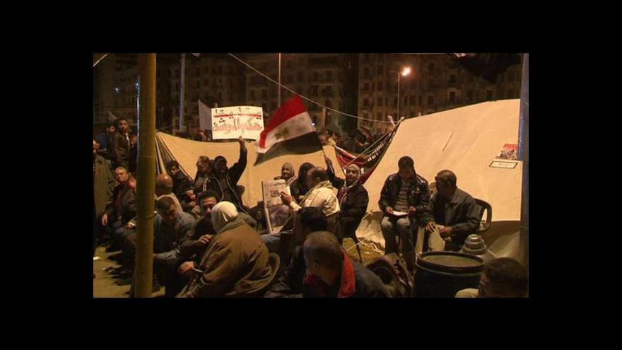 """Video Mursí prchl po """"poslední výstraze"""" lidu ze svého paláce"""