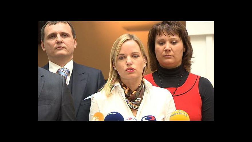 Video Brífink VV po jednání poslaneckého klubu