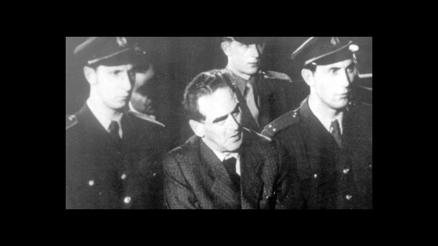 Video 60 let od popravy Rudolfa Slánského