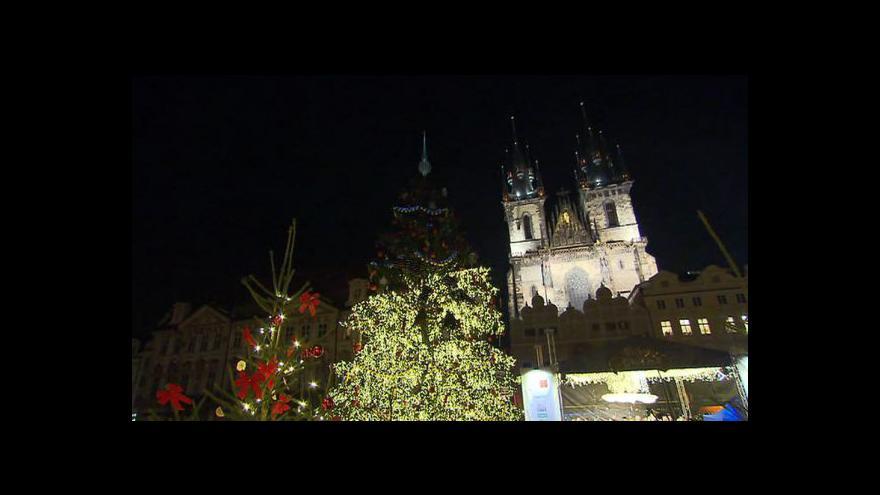Video Vánoční trhy začaly
