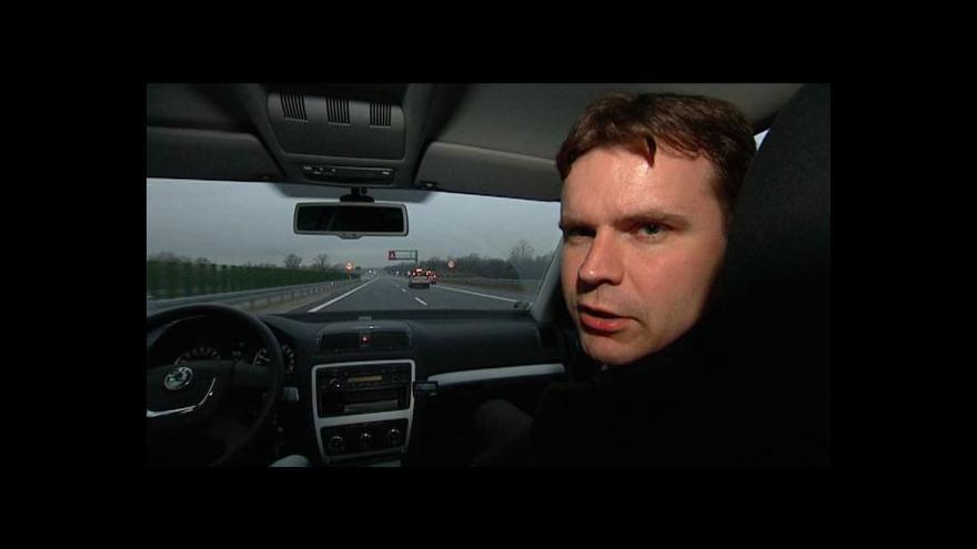 Video Dálnice D1 se prodloužila až do Polska