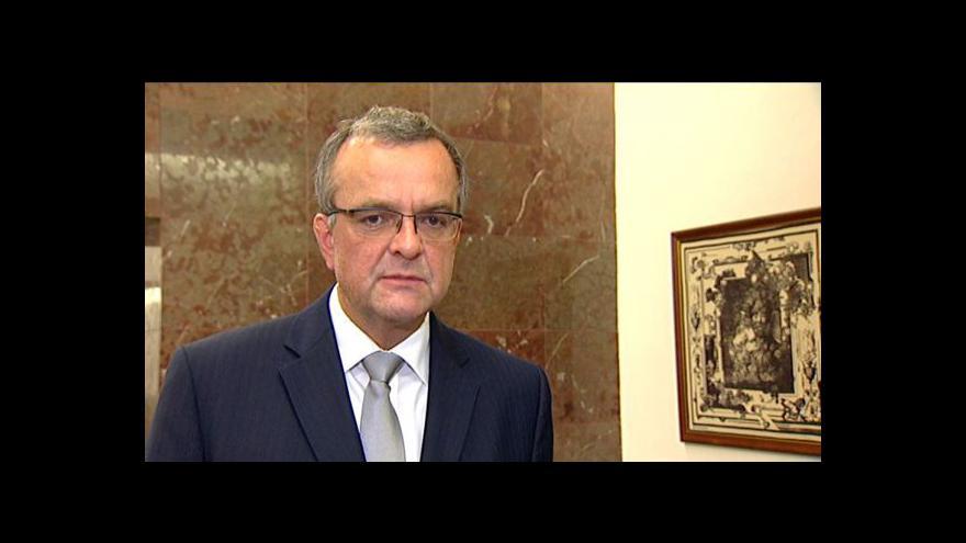 Video TK Miroslava Kalouska k účetní metodice ESA 95