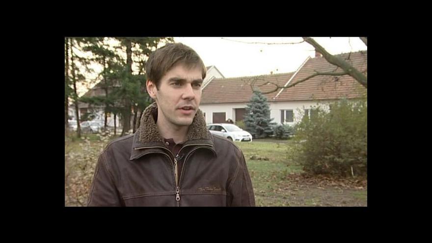 Video Hovoří starosta Drnovic Petr Ducháček (TOP 09)