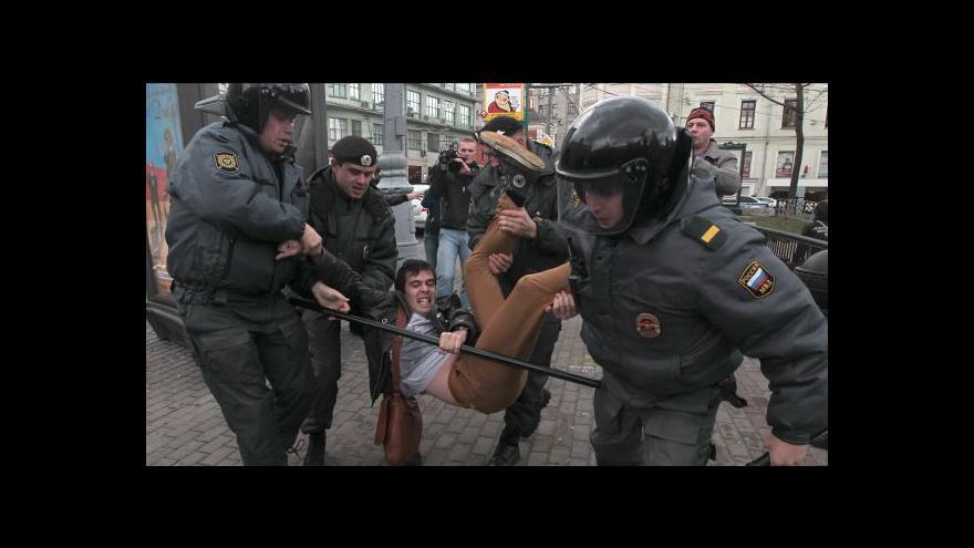Video Ruský soud projedná protidemonstrační zákon