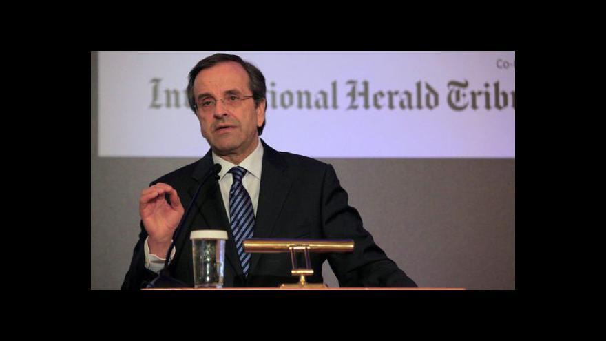 Video Ministři financí jednají o miliardách pro Řecko