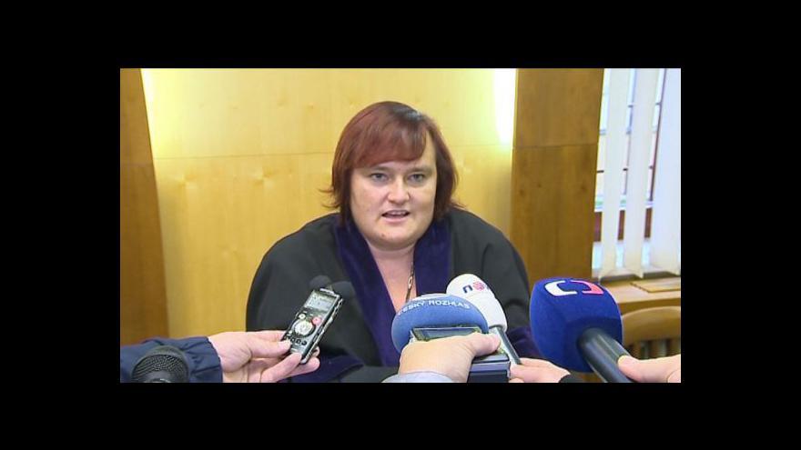Video Hovoří soudkyně Okresního soudu v Kroměříži Hana Machalová