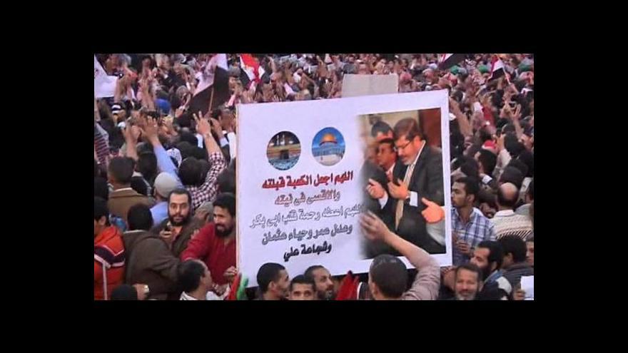 Video Mursího dekrety jsou prý jen dočasné