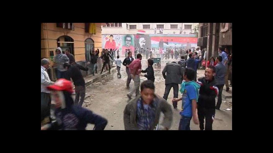 Video Egypt se dál bouří