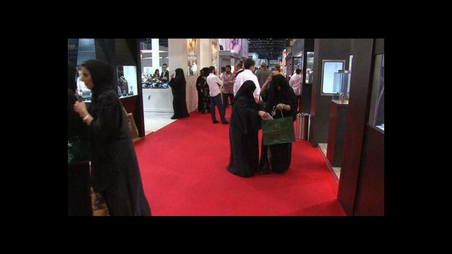 Video Přehlídka luxusu v Dubaji