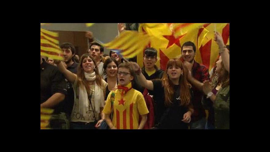 Video Volby v Katalánsku vyhráli nacionalisté, na většinu nedosáhli