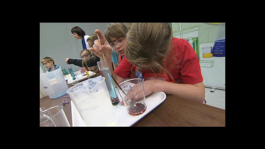 Video Národní tecnické muzeum uvedlo laboratoř pro nejmenší chemiky