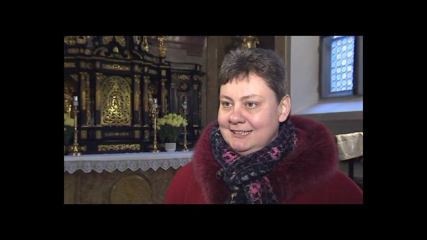 Video Mluvčí brněnské diecéze Martina Jandlová o církevních restitucích