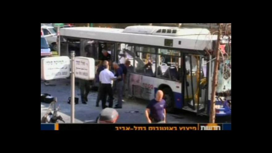 Video Izrael zatkl atentátníka z Tel Avivu