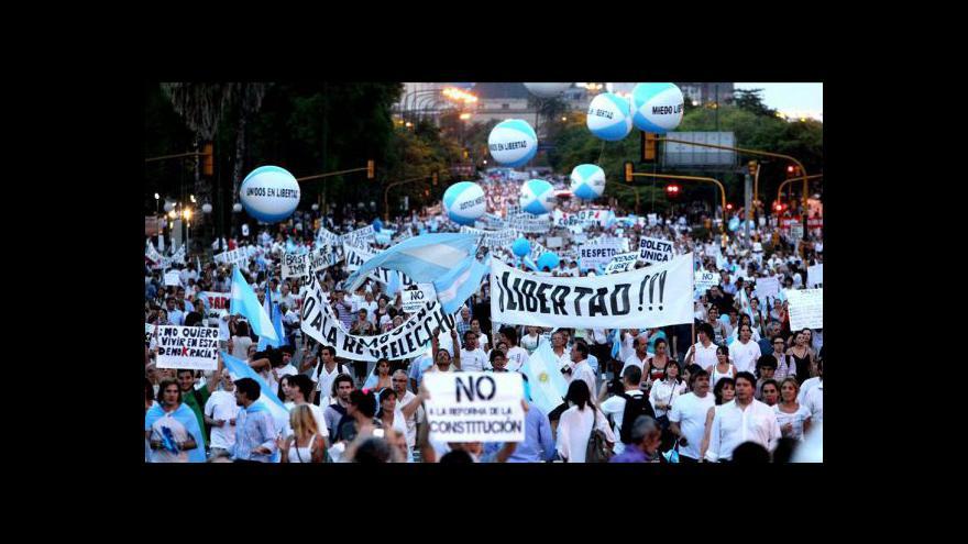 Video Argentina před bankrotem?