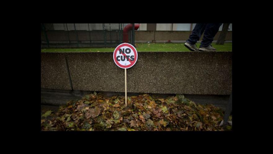 Video Protesty britských studentů