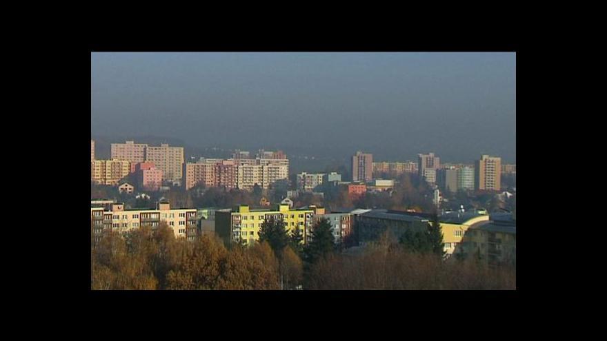 Video Smog ve středních Čechách postupně klesá