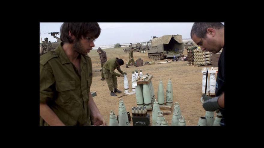 Video Příměří mezi Palestinci a Izraelci stále trvá