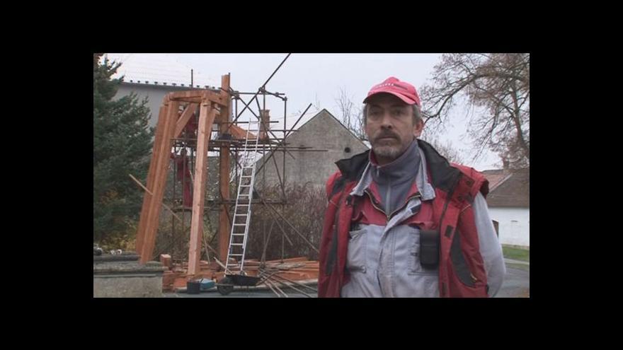 Video Tesař Ivo Daněček o stavbě