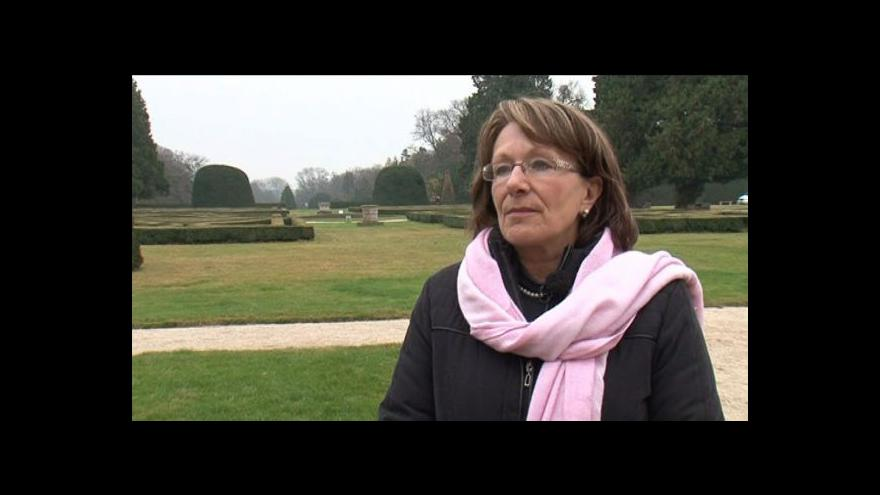 Video Kastelánka lednického zámku Ivana Holásková mluví o historii parku
