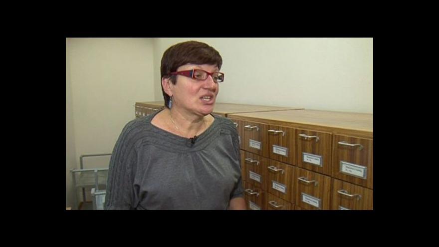Video Lenka Typltová popisuje původní katalogizační systém