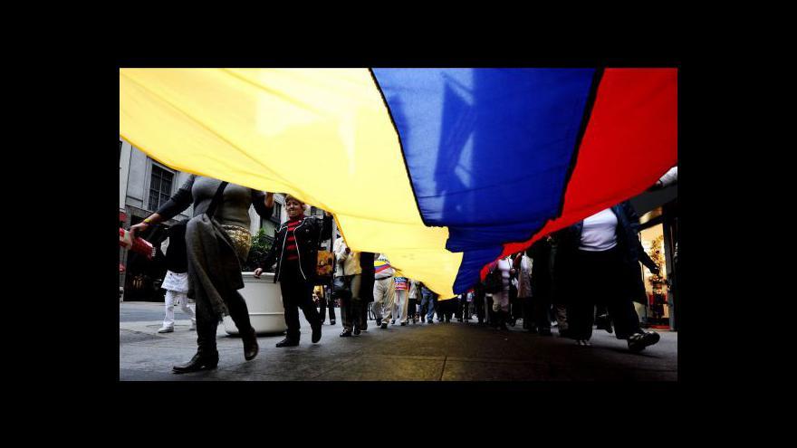 Video FARC a vláda Kolumbie jednají o míru