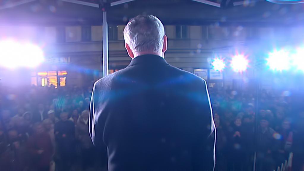 Video Miloš Zeman - nekrolog politika a oslava Vysočiny