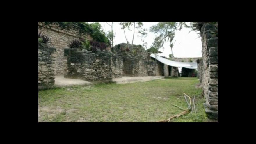 Video Úspěšná obnova mayského města