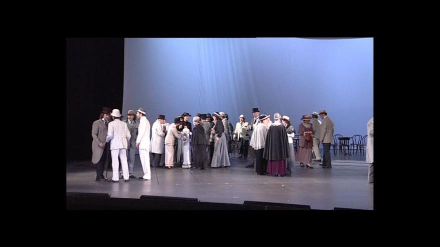Video Ukázka z Janáčkovy opery Osud v rámci festivalu Janáček Brno 2012