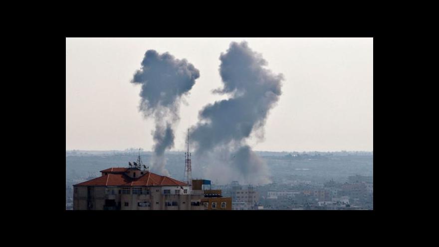 Video Události k přestřelce mezi Izraelem a pásmem Gazy