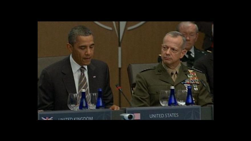 Video Obama se přiklonil na stranu generála Allena
